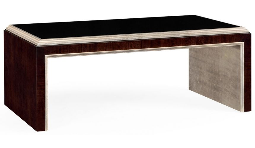Coffee Tables Contemporary Glass Top Coffee Table