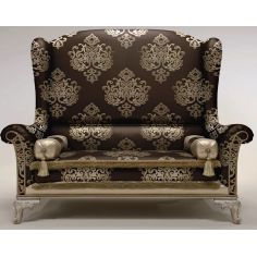 Oversized Wingback Chair