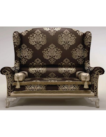 Luxury Leather & Upholstered Furniture Oversized Wingback Chair
