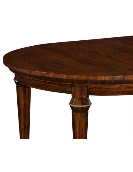 Dining Tables Round to Oval Extending Dining Table