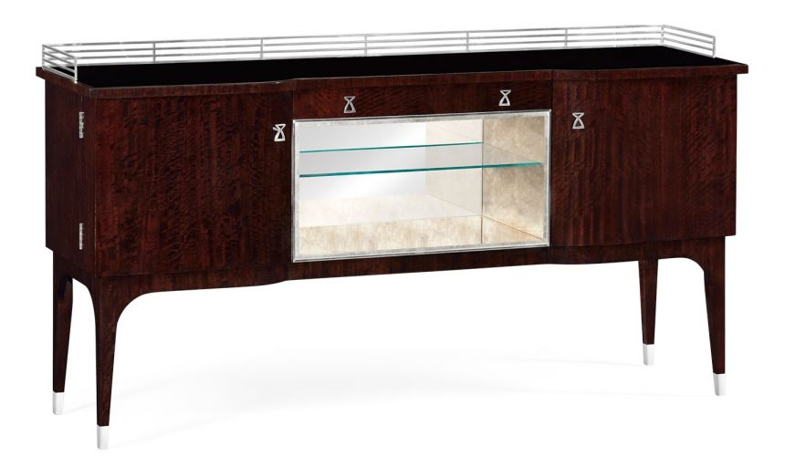 Upscale Bar Furniture Stylish Drinks Cabinet