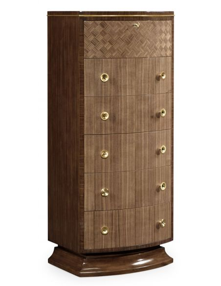 Modern Furniture Traditional Tall chest of Drawers