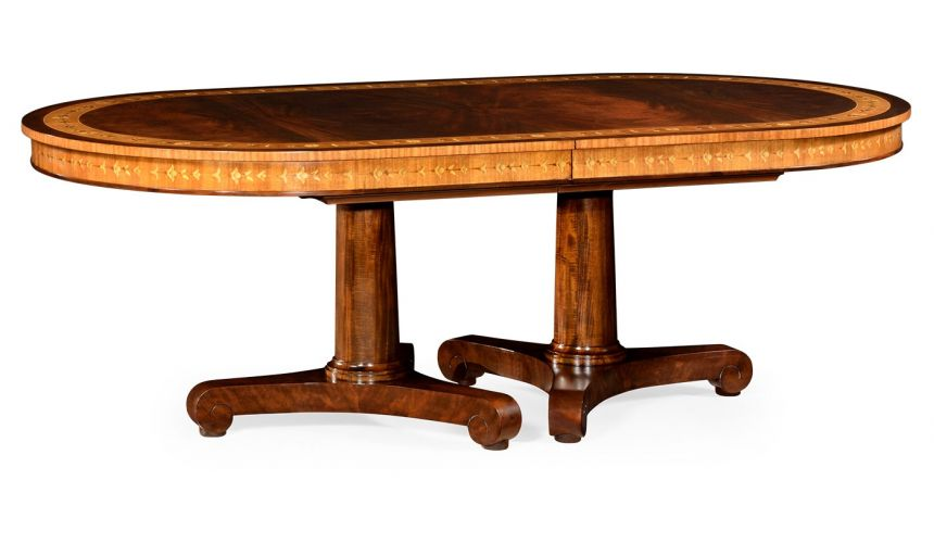 Dining Tables Biedermeier Style Dining Table