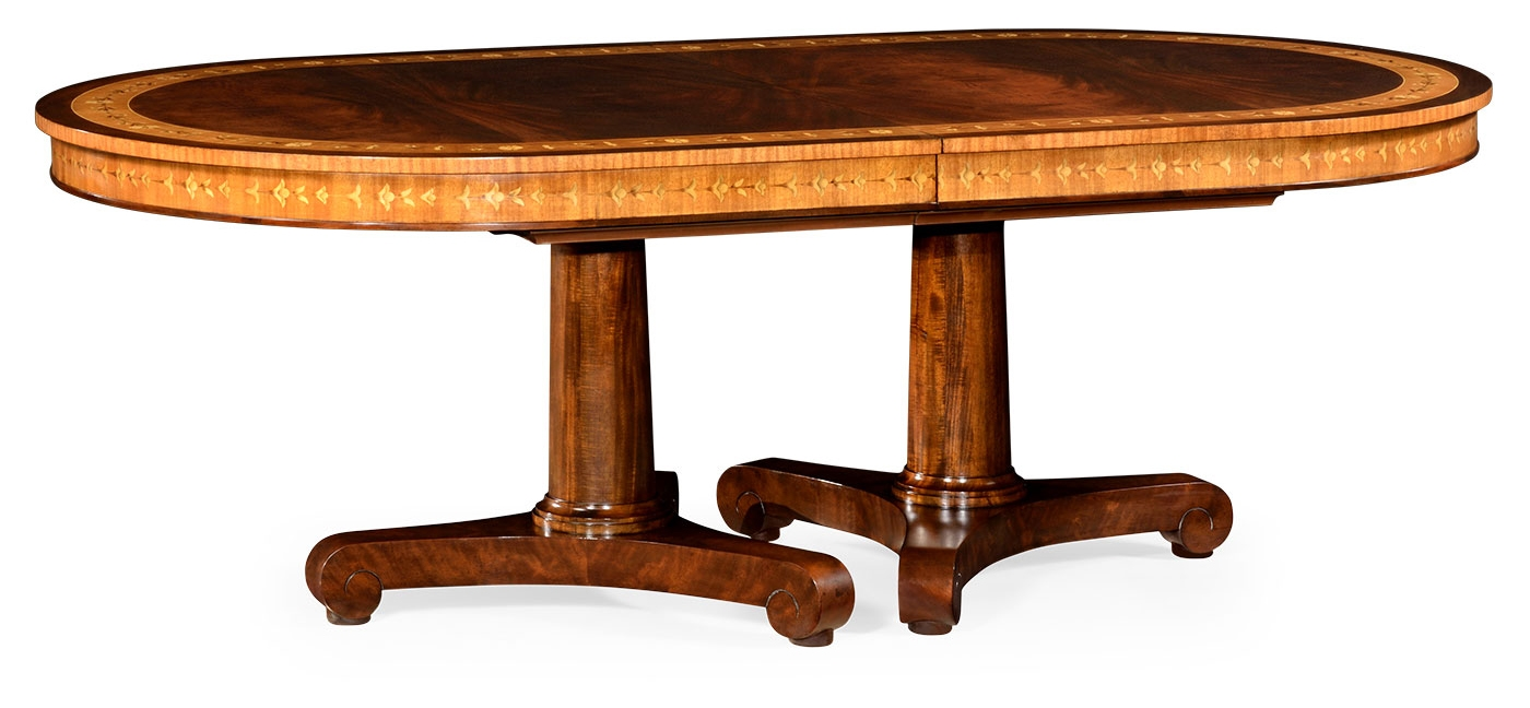 Biedermeier style dining table for Styling dining room table