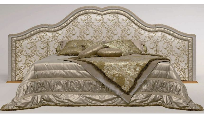 BEDS - Queen, King & California King Sizes Oversized Arched Headboard Bed