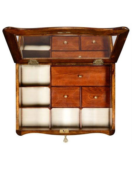Luxurious Marquetry Cabinet