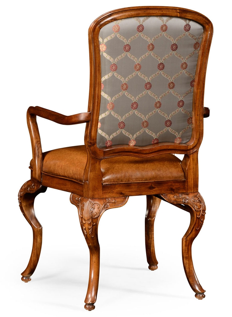 Walnut Louis XV Style Side Chair 82