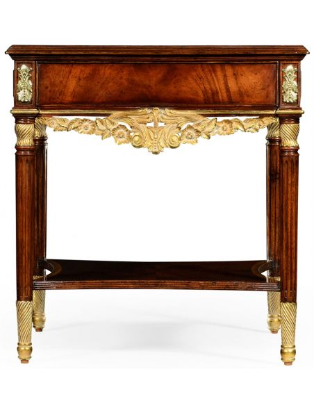 Square & Rectangular Side Tables Mahogany side table in Louis IV style