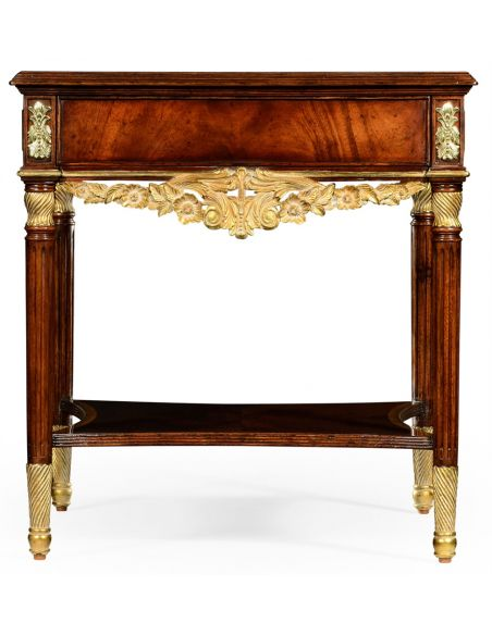 Square & Rectangular Side Tables Elegant Louis IV Style Side Table