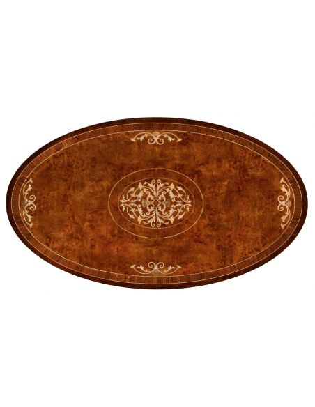 Coffee Tables Mother of Pearl inlaid coffee table