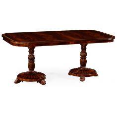 Antique Double Pedestal Table