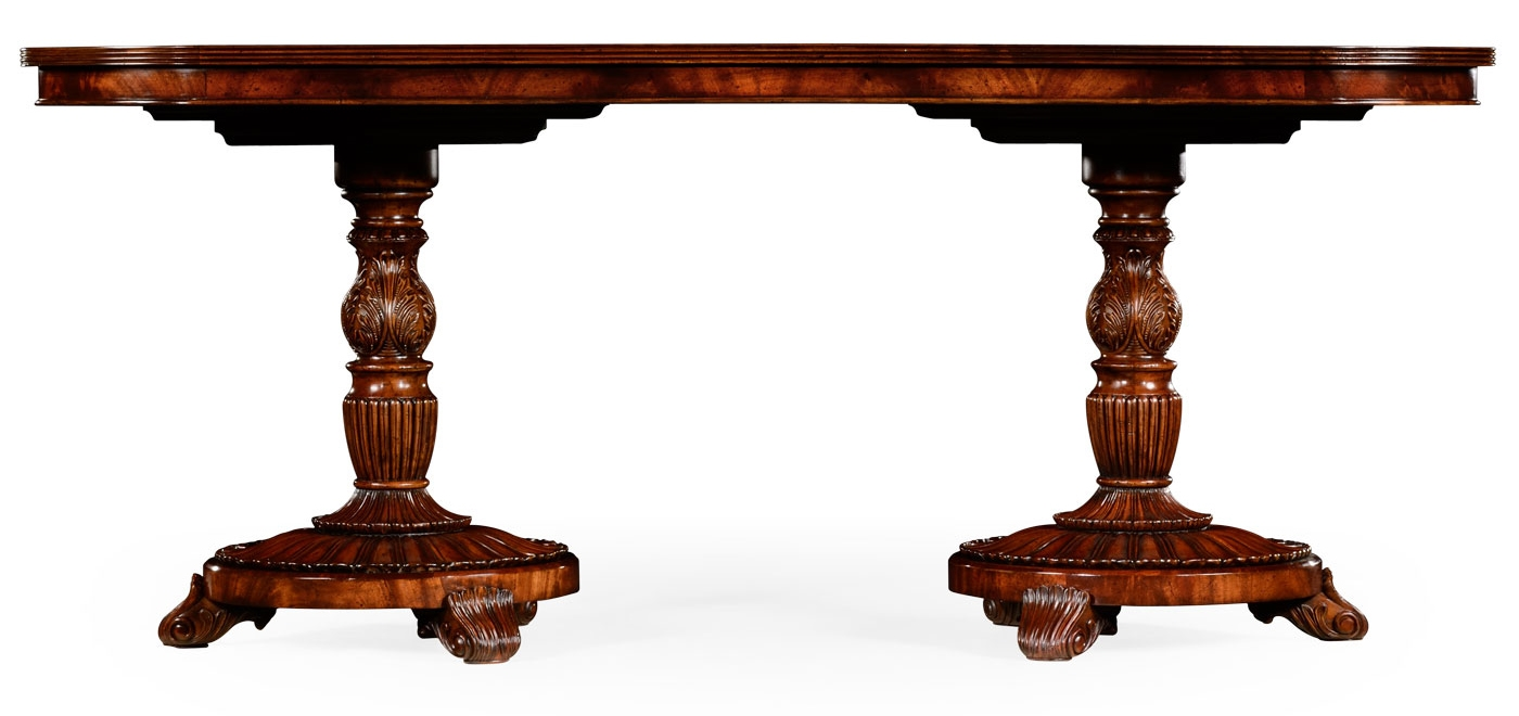 Dining Tables Antique Double Pedestal Table