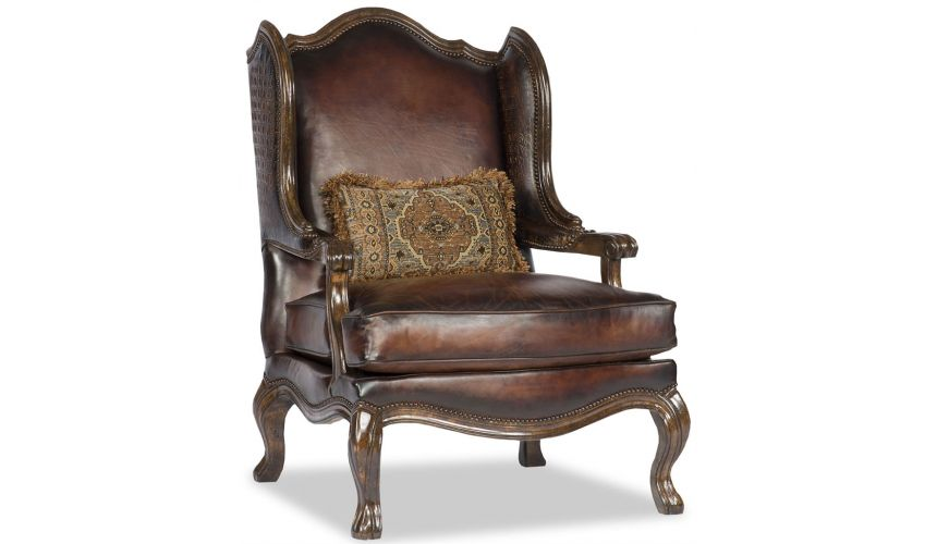 Luxury Leather & Upholstered Furniture Fancy Leather Chair