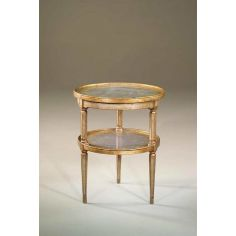 Accent lamp side round table