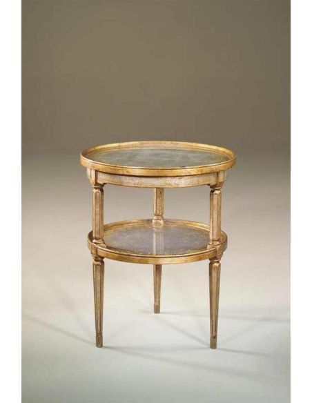 Round & Oval Side Tables Accent lamp side round table