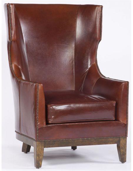 Modern Furniture High Back Leather Chair