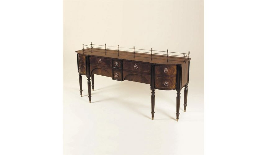 Breakfronts & China Cabinets Luxury dining room furniture Sideboard
