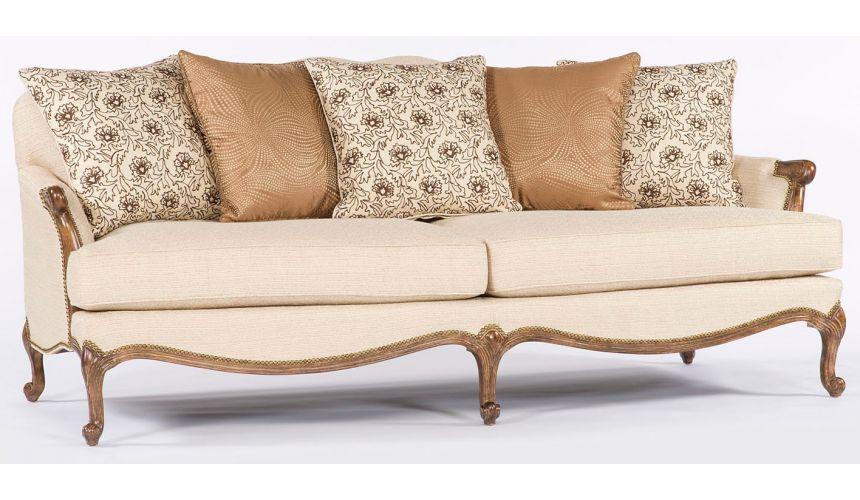 SOFA, COUCH & LOVESEAT Ivory Sofa