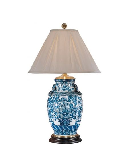 Decorative Accessories Procelain Garden Amphora Lamp
