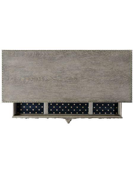 Console & Sofa Tables Godwyn console (Greyed Oak).