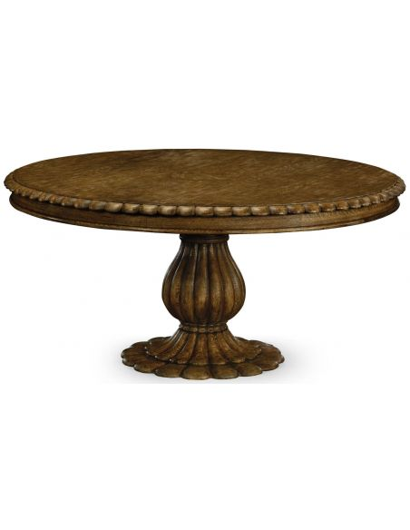 Dining Tables Majestic Oak Pedestal table