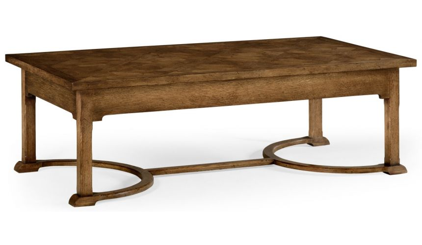 Coffee Tables Parquet top oak coffee table