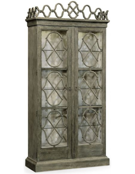 Breakfronts & China Cabinets Decorative Georgian Display Cabinet