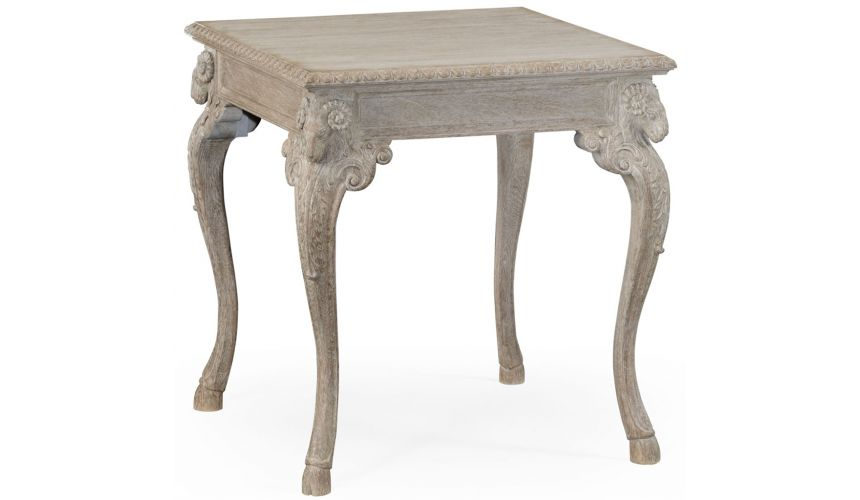 Decorative Accessories Hand carved ram's head table