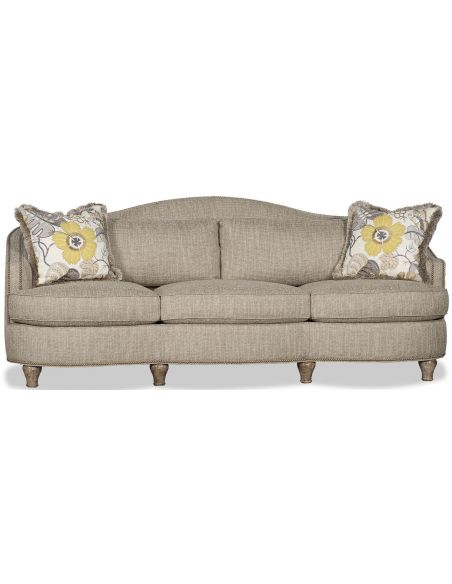 SOFA, COUCH & LOVESEAT Linen Finish Sofa