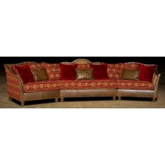 Leather & Upholstered Luxurious Sofa-68