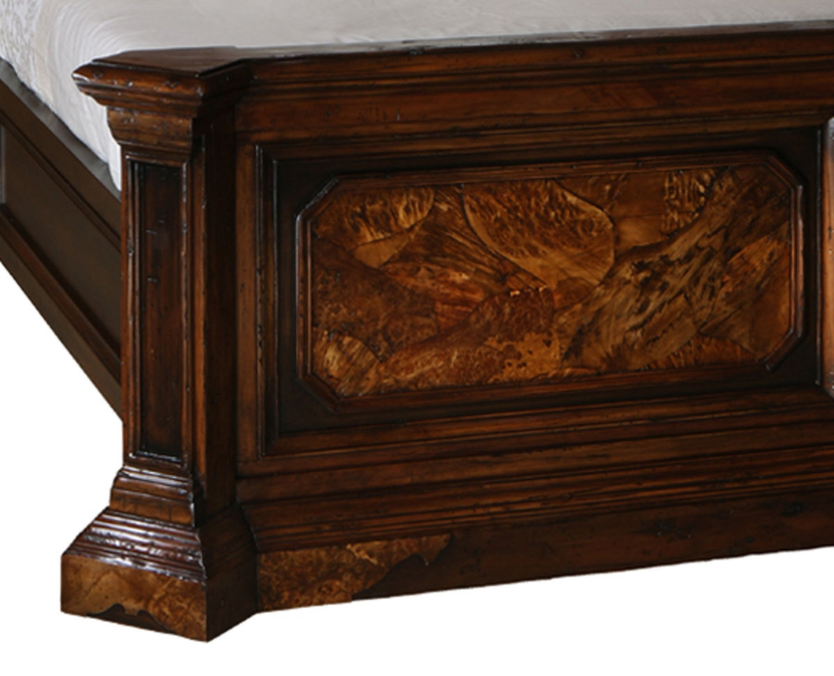 Attractive BEDS   Queen, King U0026 California King Sizes Burl Wood Bedroom Furniture 46