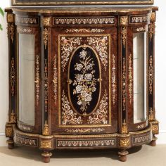 11 Venetian style Credenza. Mother of pearl flower inlays.