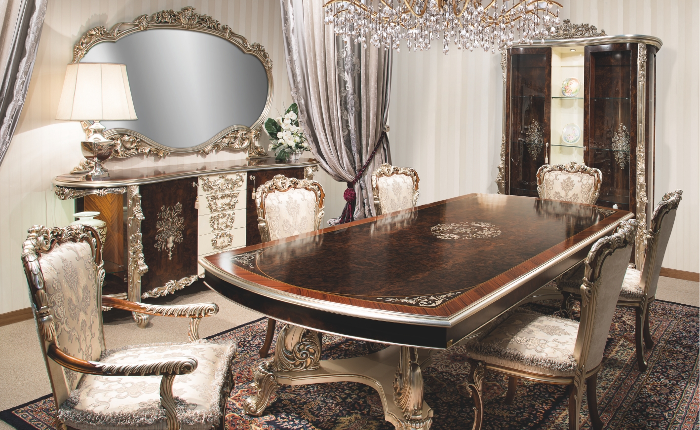 dining room sets. Dining Tables 1 High End Italian Furniture  Room Set