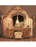 Impressive Empire style Dressing Table Antiqued Design