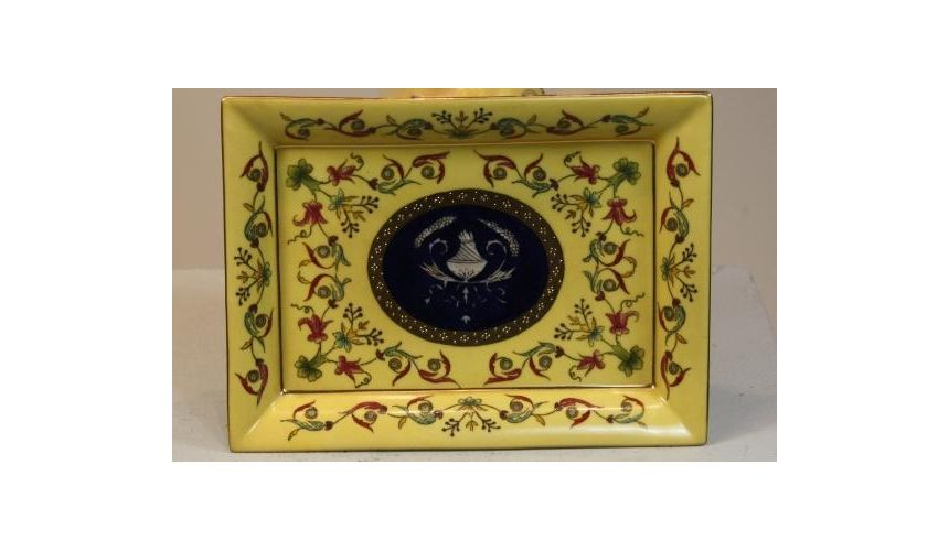 Decorative Accessories Home Accessories Porcelain Tray