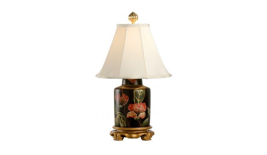 Decorative Accessories Floral Porcelain Urn Lamp