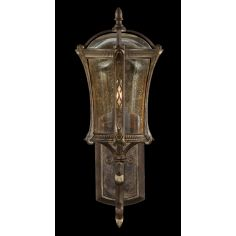 Petite wall mount in an aged antique gold finish