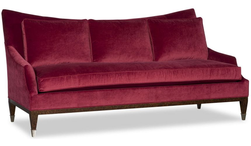 SOFA, COUCH & LOVESEAT Upholstered Wingback Sofa