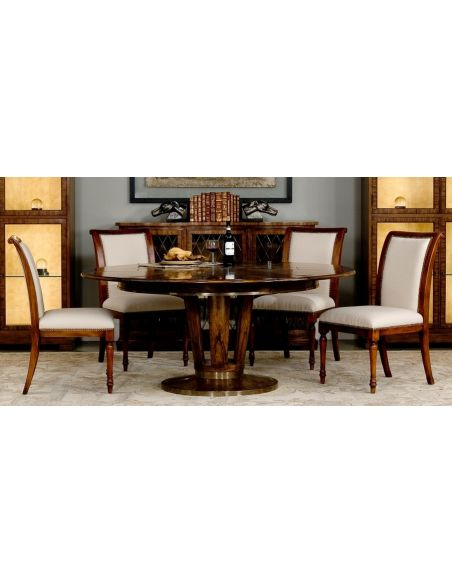 Dining Tables 70 inch Jupe table transitional style