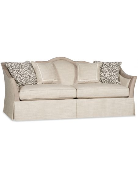 SOFA, COUCH & LOVESEAT Arched Headboard Sofa