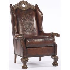 Gothic Leather Chair