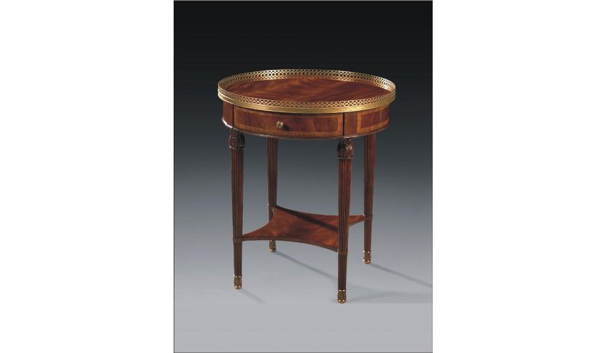 Round & Oval Side Tables High Quality Furniture Round Lamp Table