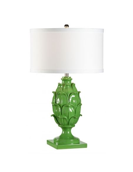 Decorative Accessories Green Artichoke Patterned Lamp