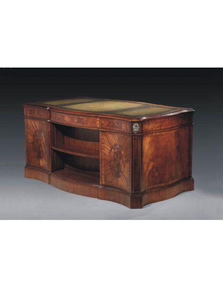 Executive Desks Library & Office Furniture Serpentine Desk
