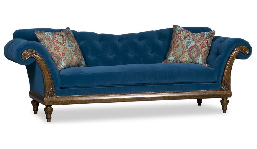 SOFA, COUCH & LOVESEAT Tufted Upholstered Sofa