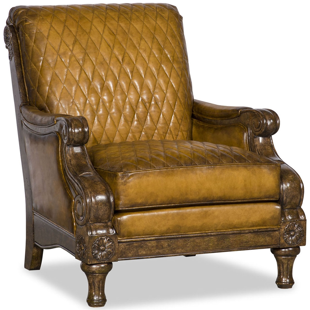 Quilted Upholstered Club Chair