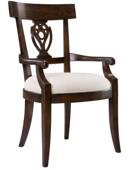 Dining Chairs Artist Dining Arm Chair Mult/2.