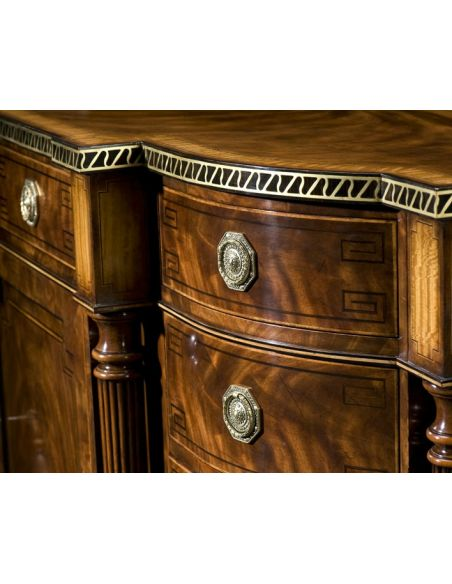 Breakfronts & China Cabinets English Cabinet Maker.Dining Room Breakfront