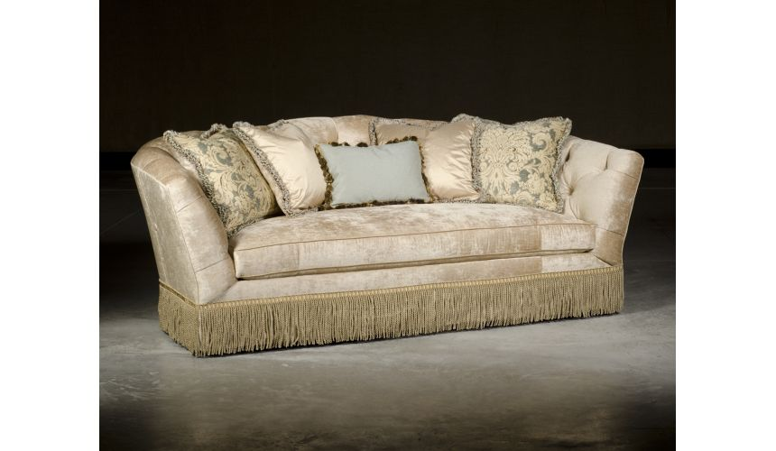 SOFA, COUCH & LOVESEAT Traditional Style Sofa, Luxury Upholstered Quality Furniture