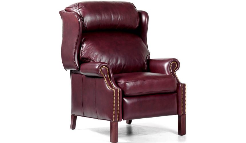 MOTION SEATING - Recliners, Swivels, Rockers Leather Avery Recliner